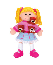 Hand & Finger Puppet Set - Goldilocks