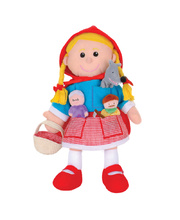Hand & Finger Puppet Set - Red Riding Hood