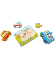 Haba Wooden Layer Puzzle - Emergency 4pcs