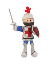 Fiesta Crafts Hand Puppet - Knight 33cm