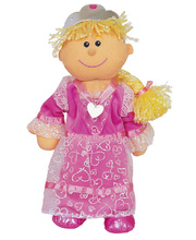 Fiesta Crafts Hand Puppet - Princess 33cm