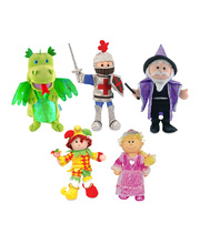 Fiesta Crafts Hand Puppet - Set of 5