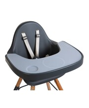 Evolu 2 High & Low Feeding Chair - Grey Chair with Grey Tray