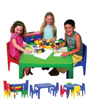 *SPECIAL: Jolly KidZ Plastic Resin Red - Square Table