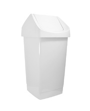 Waste Bin 27L - Swing Top Tidy White