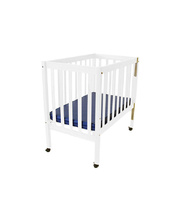 Tikk Tokk Elm Cot - White with Mattress