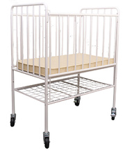 Tikk Tokk Ergonomic Evacuation Metal Cot & Mattress