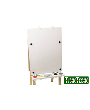 MYO Easel Board 60 x 80cm - 2 Sided Board (Magnetic White/Chalk)TMB27
