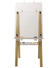 MYO Easel Wooden - Double Clear Board