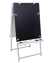 MYO Easel Outdoor Aluminium - Double Magnetic White/Chalk