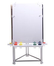 MYO Easel Outdoor Aluminium - Triple White Board