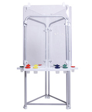 MYO Easel Outdoor Aluminium - Triple Clear Board