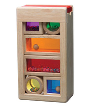 @Wonderworld Rainbow Sound Blocks - 6pcs