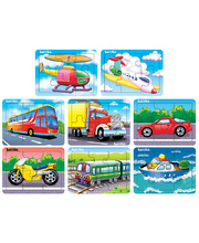 Tuzzles Transport Puzzles - Set of 8