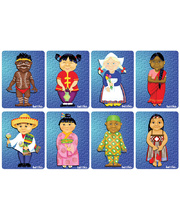 Tuzzles Children Of The World Puzzles - Series 1 Set of 8 Puzzles