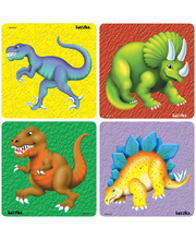 Tuzzles Dinosaur Raised Puzzles - Set of 4