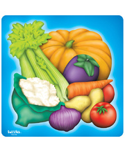 Tuzzles Raised Puzzle - Vegetables 24pcs