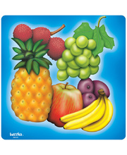 Tuzzles Raised Puzzle - Fruit 17pcs