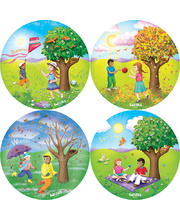 Tuzzles Seasons Raised Puzzles - Set of 4