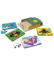 Tuzzles Insect Puzzles - Set of 8