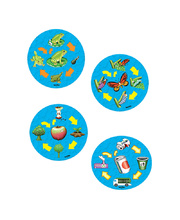 Tuzzles Life Cycle Raised Puzzle - Set of 4