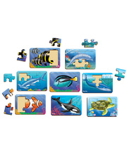 Tuzzles Sea Life Puzzles - Set of 8