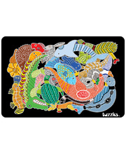 Tuzzles Aboriginal Animal Maze Tray Puzzle - 22pcs