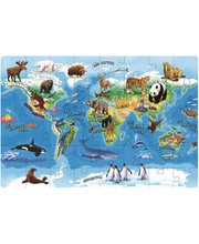 Tuzzles Animals Of The World Floor Puzzle - 48pcs