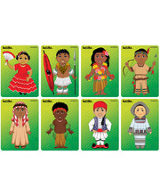 *SPECIAL: Tuzzles Children Of The World Puzzles - Series 2 Set of 8 Puzzles