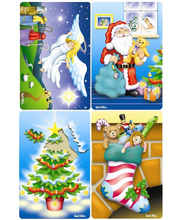Tuzzles Christmas Icons - Set of 4