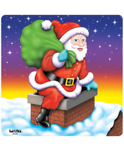 >Tuzzles Santa In The Chimney Puzzle - 25pcs