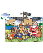 >Tuzzles Early Learners Christmas Party Puzzle - 12pcs