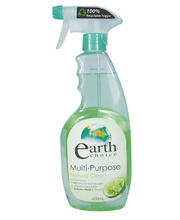 Earth Choice Multi Purpose Spray & Wipe Cleaner - 600ml