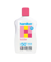 Hamilton Sunscreen Toddler Lotion - SPF50 250ml