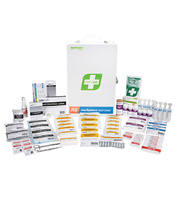 First Aid Kit - Workplace Response R2 1-25 People - Metal Cabinet