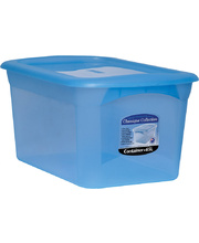 *SPECIAL: Classique Storage Box - With Lid Blue 65Lt