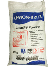 Septone Lemon Brite Laundry Powder - 20kg Bag