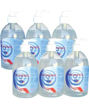 Sologenic Waterless Alcohol Hand Cleaner - 500ml 6pk