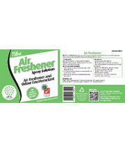 SoloPak Air Freshener - Replacement Label Only