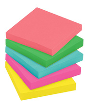 Post-it Sticky Notes - Ultra Colours (654-5UC) 5pk