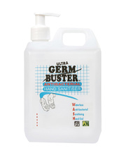 Germ Buster Anti-Bacterial Waterless Hand Gel - 1L