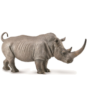 Collecta Wild Life Replica - White Rhinoceros 13 x 7cmH