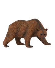 CollectA Wild Life Replica - Brown Bear 11 x 6cmH