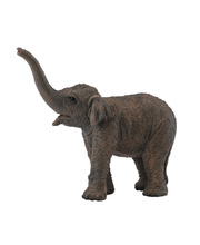 CollectA Wild Life Replica - Asian Elephant Calf 8 x 6cmH