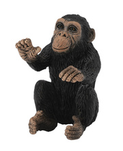 CollectA Wild Life Replica - Chimpanzee Cub 3 x 3.5cmH
