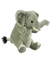 National Geographic Hand Puppet - Elephant 35cm