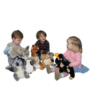National Geographic Hand Puppet - Set of 8