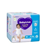 BabyLove Bulk Nappies - Lrg/Toddler 9-14kg 144pk
