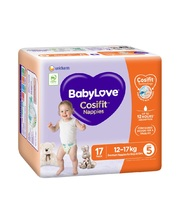 BabyLove Bulk Nappies - XL/Walker 12-17kg 96pk