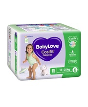 BabyLove Bulk Nappies - Junior 15kg+ 90pk
